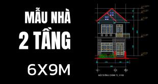 file-cad-nha-pho-2-tang-mai-thai-dep-6x9m